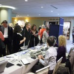 Guests checking out the accessibility display during the 2012 Redefining Vision Luncheon