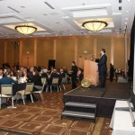 Emcee Cyrus Habib speaking at the 2012 Redefining Vision Luncheon
