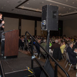 Seattle Actor and Comedian Pat Cashman emceed the event