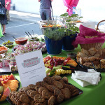 Some of the great food served by local businesses at the Redefining Vision Garden Party